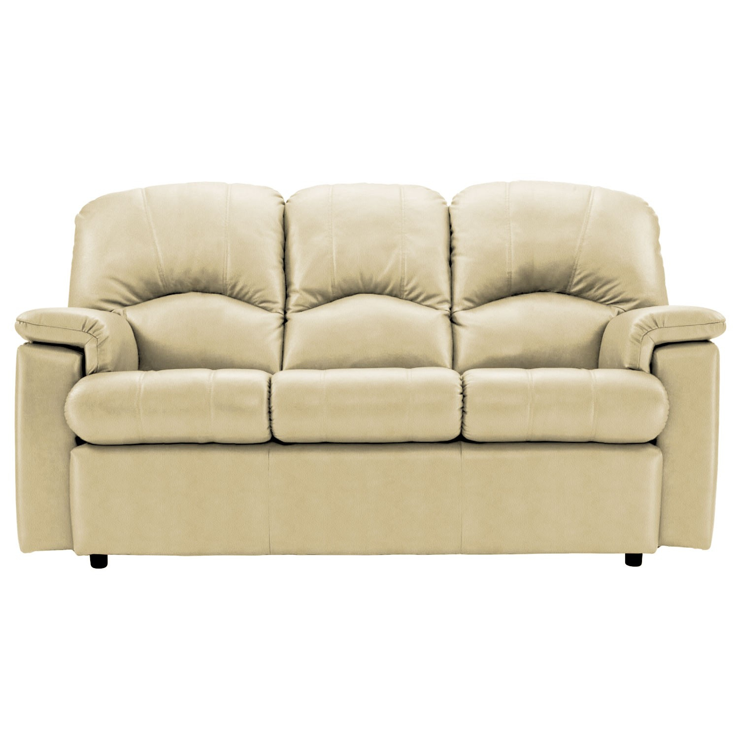 G Plan Chloe Three Seater Leather Sofa, Small In 3 Seater Leather Sofas (View 10 of 15)