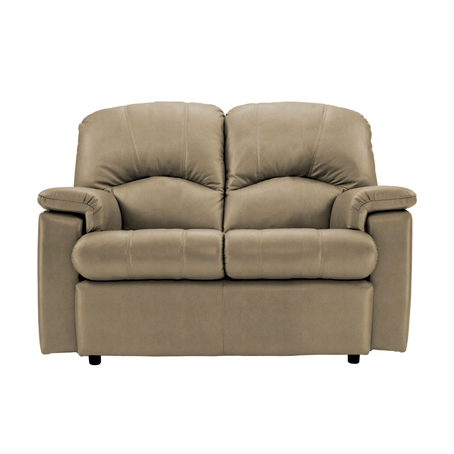 G Plan Chloe Two Seater Leather Sofa, Small For Small 2 Seater Sofas (View 14 of 15)