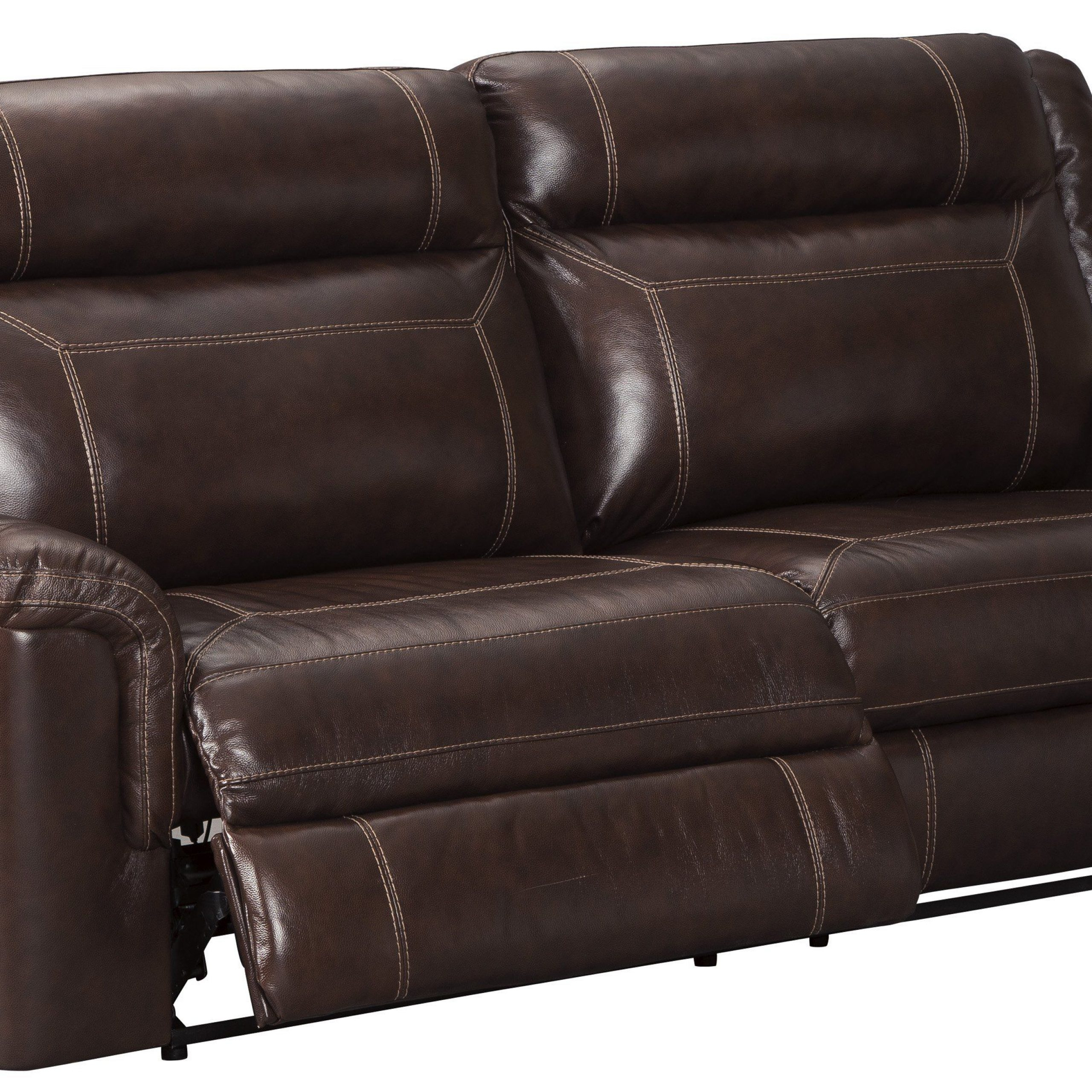 Genuine Leather Reclining Sofa And Loveseat Pertaining To Marco Leather Power Reclining Sofas (View 4 of 15)
