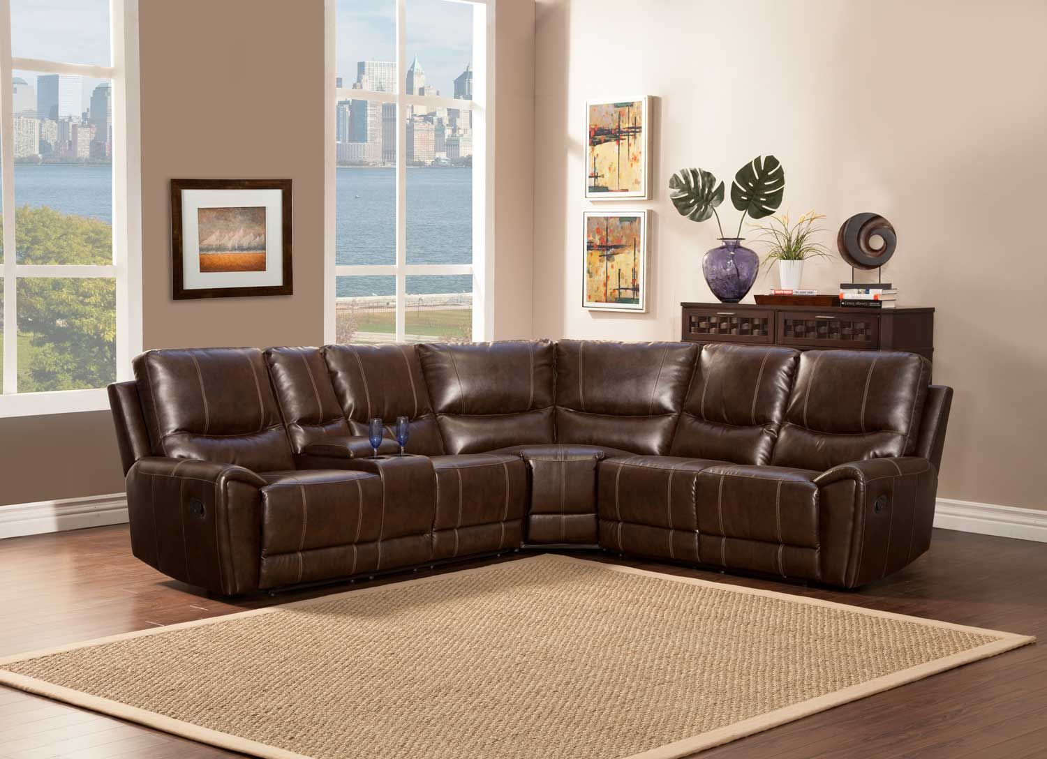 Gerald 4Pc Sectional Set   Sectional   Dallas Tx Furniture With 4Pc Beckett Contemporary Sectional Sofas And Ottoman Sets (View 7 of 15)