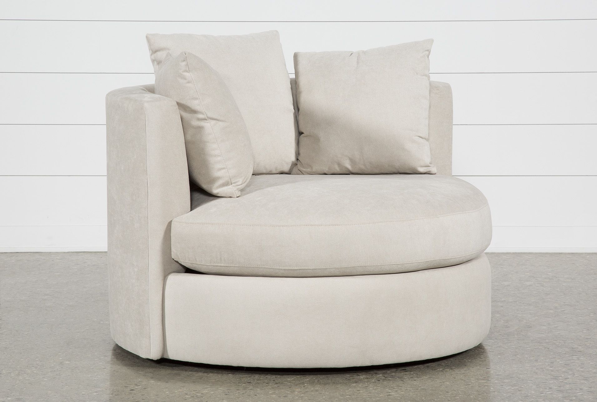 Gibson Ii Swivel Cuddler In 2020 | Cuddler Chair, Big Throughout Cuddler Swivel Sofa Chairs (View 1 of 15)