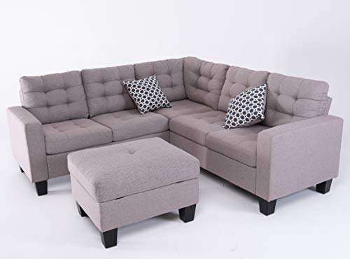 Good & Gracious Sectional Sofa Set, L Shaped Couch With In Palisades Reversible Small Space Sectional Sofas With Storage (View 5 of 15)