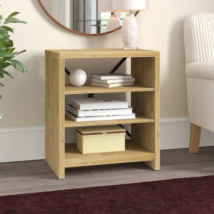Gracie Oaks Laguna Standard Bookcase & Reviews | Wayfair (View 7 of 15)