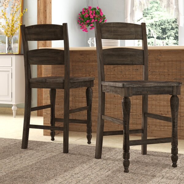 """Gracie Oaks Westhoff 24"""" Counter Stool & Reviews 