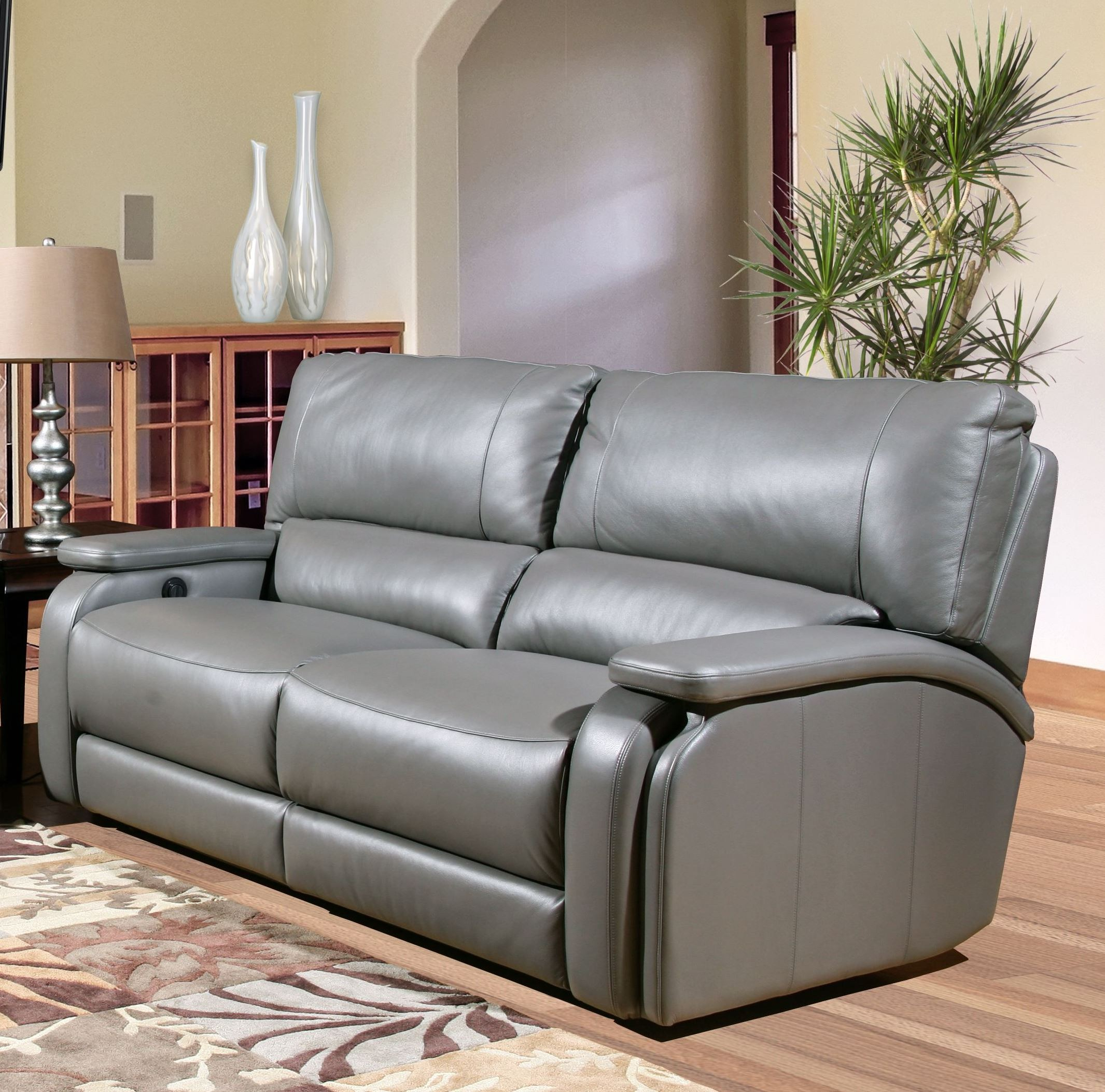 Grisham Heron Dual Power Reclining Sofa From Parker Living Pertaining To Raven Power Reclining Sofas (View 4 of 15)