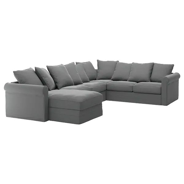 Grönlid Sectional, 5 Seat Corner, With Chaise/Ljungen For Harmon Roll Arm Sectional Sofas (View 2 of 15)