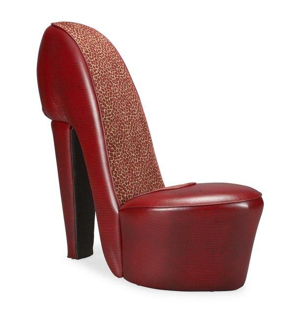 Ha Ha! So Funny! High Heel Bedroom Chair | Conjunto De With Regard To Heel Chair Sofas (View 12 of 15)