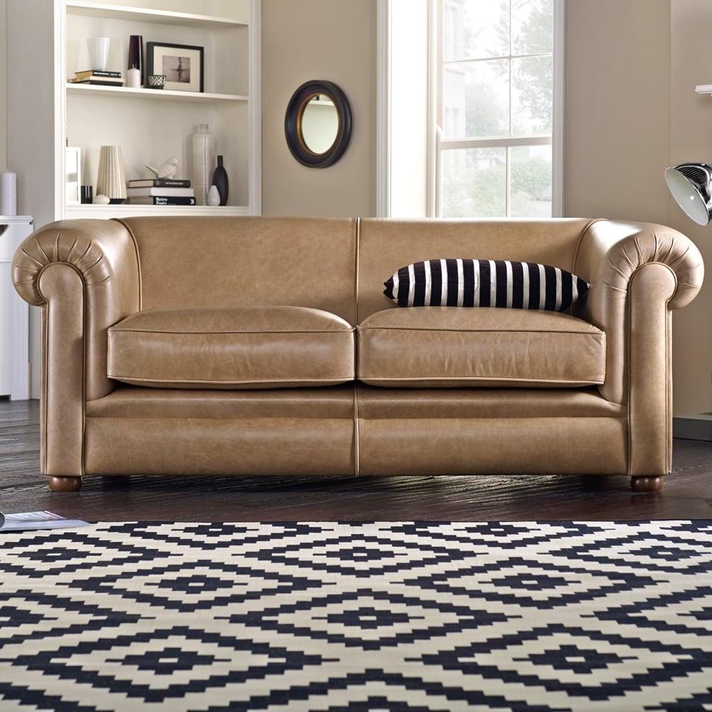 Hampton 4 Seater Sofa – From Sofassaxon Uk With Regard To 4 Seater Sofas (View 3 of 15)