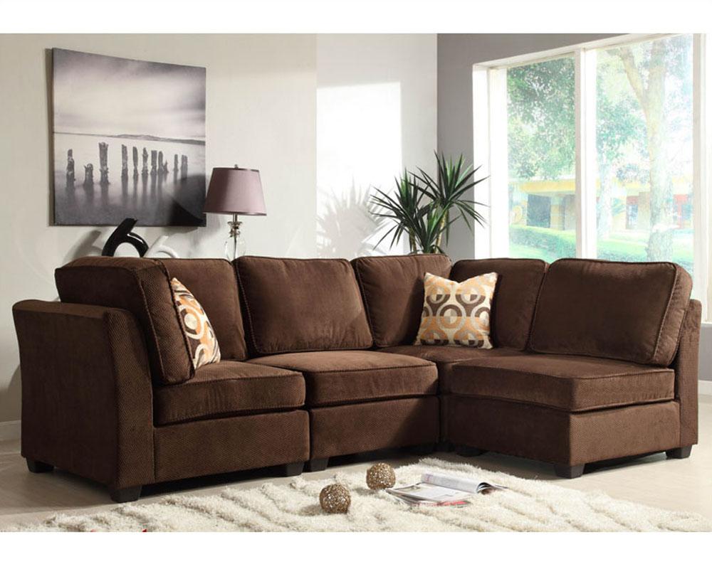 Homelegance Sectional Sofa Set Burke Modular El 9709Fcset Intended For Sectional Sofas (View 13 of 15)