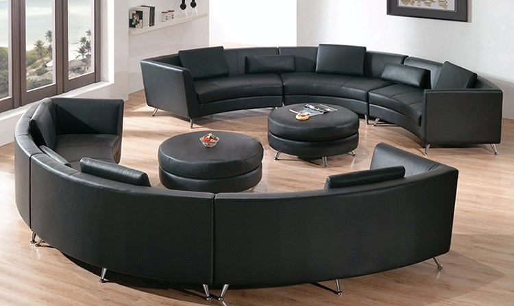 Hot Sale Fashion Design Wooden Frame 6 Seater Sofa Set C For C Shaped Sofas (View 10 of 15)