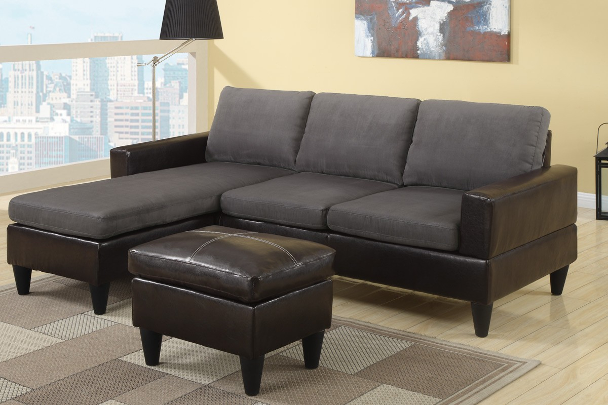 How To Place And Improve The Look Of Small Sectional Sofa Intended For Easton Small Space Sectional Futon Sofas (View 3 of 15)
