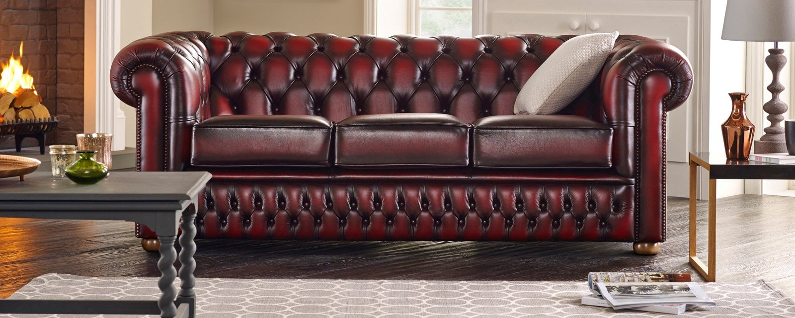 How To Spot A Quality Chesterfield Sofa | Sofassaxon For Chesterfield Sofas And Chairs (View 9 of 15)