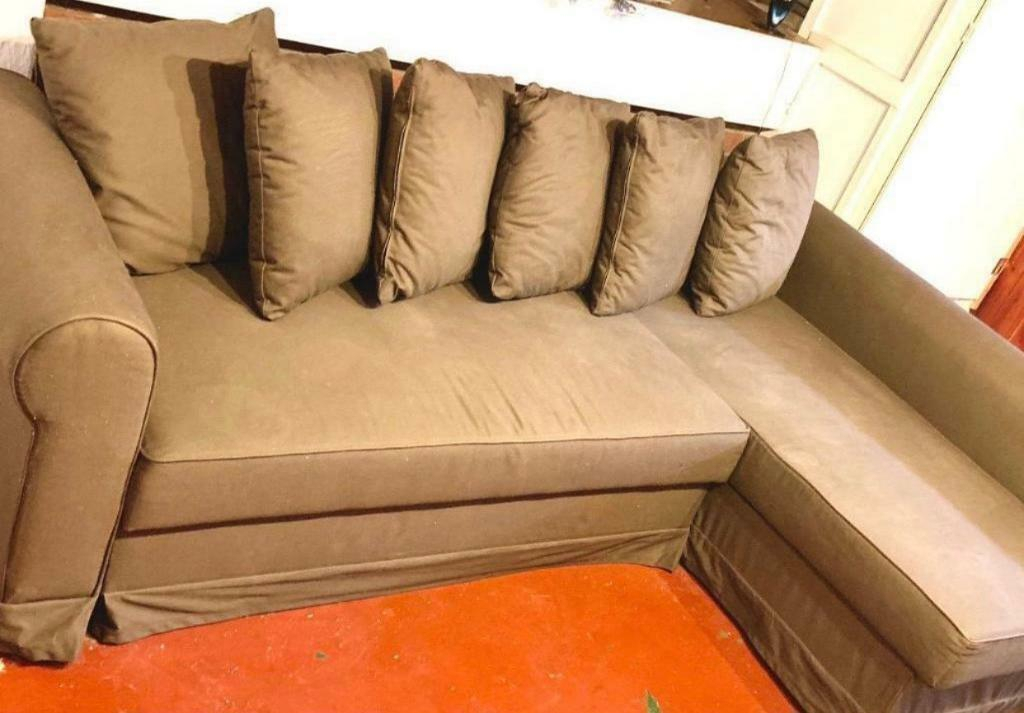 Ikea Corner Sofa Bed Brown Colour With Storage Ikea Moheda Inside Ikea Corner Sofas With Storage (View 5 of 15)