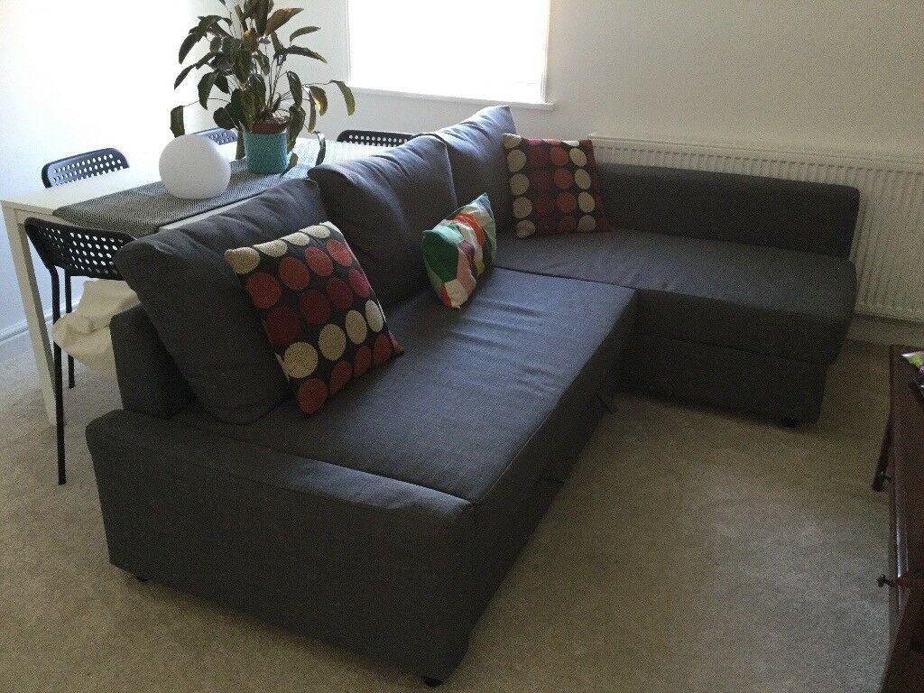 Ikea Friheten Corner Sofa Bed With Storage (View 6 of 15)