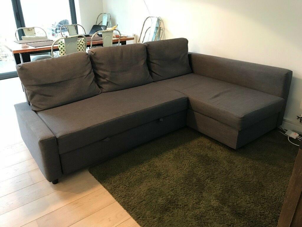 Ikea Friheten Corner Sofa Bed With Storage (View 9 of 15)