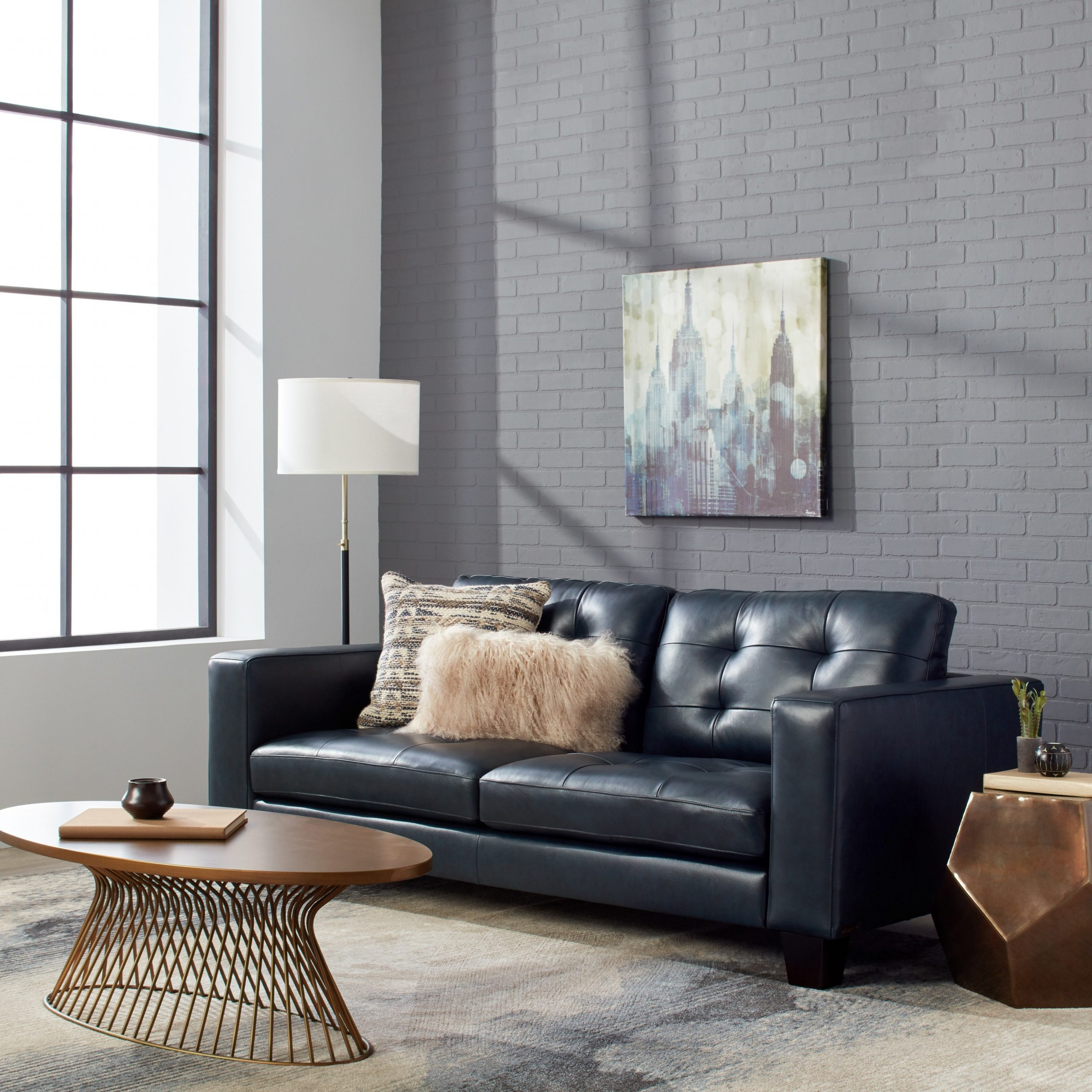 Inspirational Navy Blue Sofa Construction – Modern Sofa With Blue Sofa Chairs (View 3 of 15)