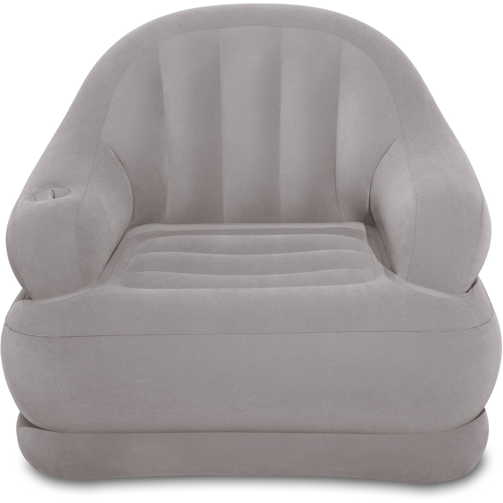 """Intex Inflatable Camping Chair, 48"""" X 44"""" X 39"""" – Walmart Regarding Inflatable Sofas And Chairs (View 9 of 15)"""