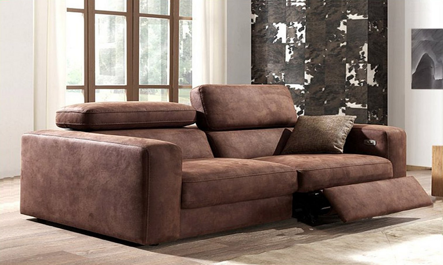 Italian Leather Sofa Country Relaxcalia Maddalena For Country Sofas And Chairs (View 1 of 15)
