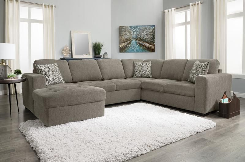 Izzy 3 Piece Chenille Left Facing Sleeper Sectional In Hugo Chenille Upholstered Storage Sectional Futon Sofas (View 8 of 15)