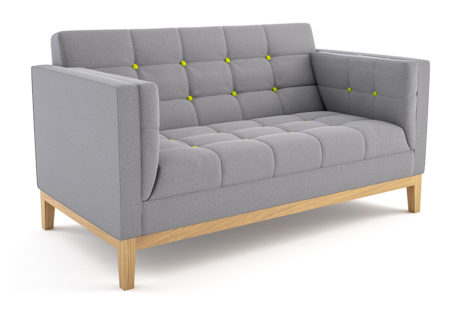 Jig Sofa Two Seater — Cobus Spaces With Symmetry Fabric Power Reclining Sofas (View 2 of 15)