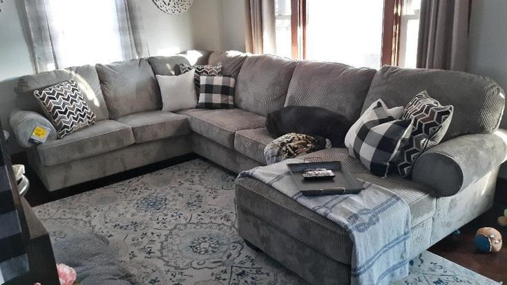 Jinllingsly 3 Piece Sectional With Chaise   Sectional, 3 Intended For 3Pc Polyfiber Sectional Sofas (View 12 of 15)