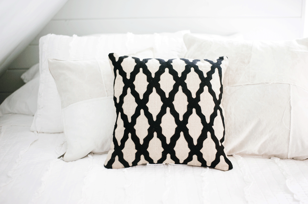 Jolie Pillow | The Magnolia Market | Black Throw Pillows Pertaining To Magnolia Sectional Sofas With Pillows (View 9 of 15)