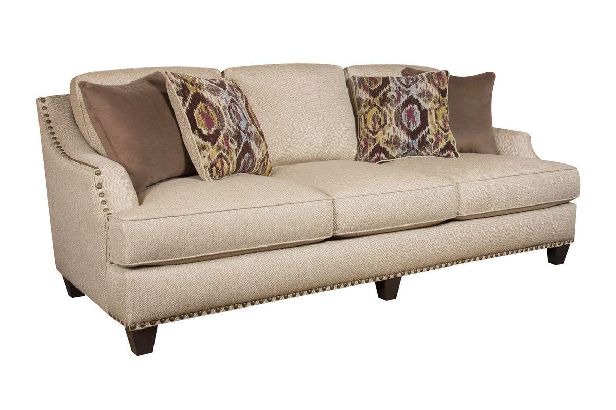 Jute Sofa At Gardner White Pertaining To White Sofa Chairs (View 9 of 15)