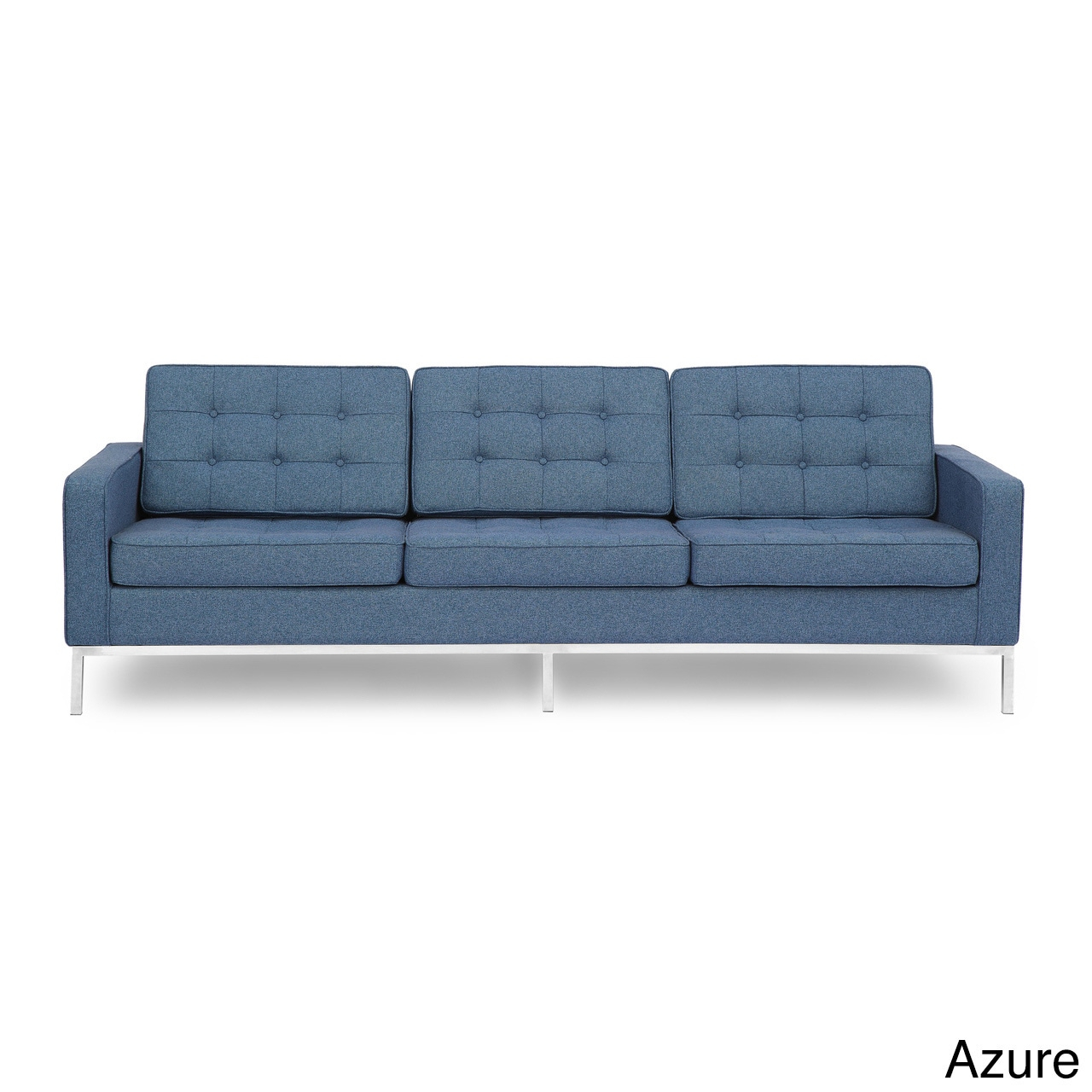 Kardiel Florence Knoll Style Sofa 3 Seat, Premium Fabric For Florence Knoll Living Room Sofas (View 4 of 15)