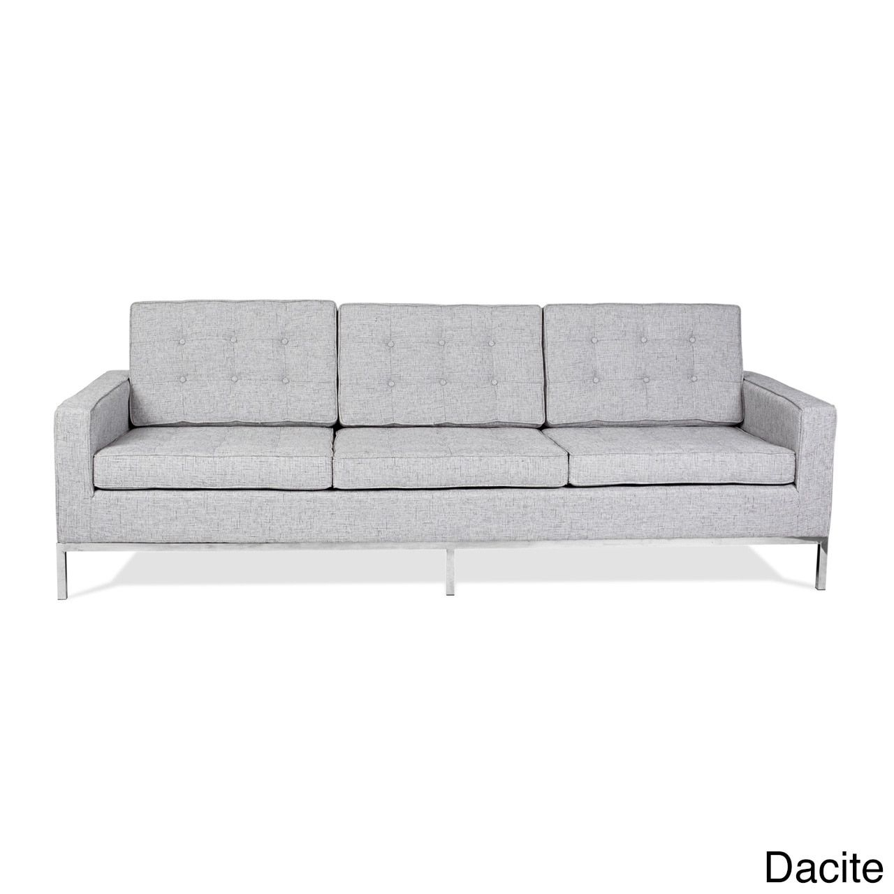 Kardiel Florence Knoll Style Sofa 3 Seat, Premium Fabric Pertaining To Florence Large Sofas (View 8 of 15)