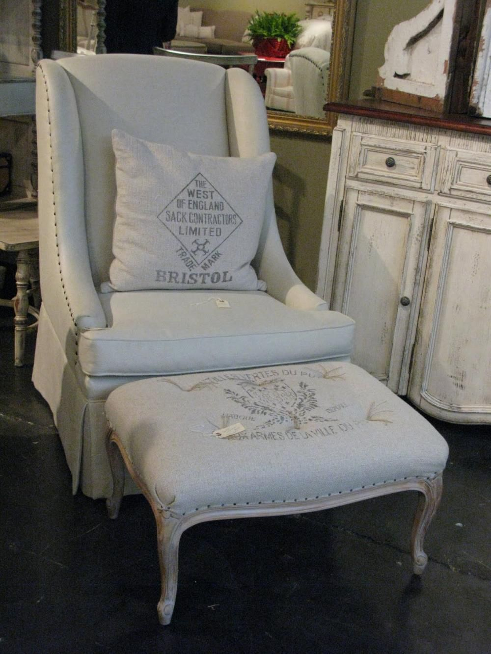 Kent Chair | French Country Furniture, French Country Pertaining To Country Cottage Sofas And Chairs (View 10 of 15)