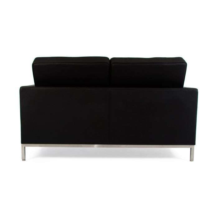 Knoll 2 Seat Sofa, Florence Knoll Inspired, Leather Sofa Throughout Florence Knoll Leather Sofas (View 3 of 15)