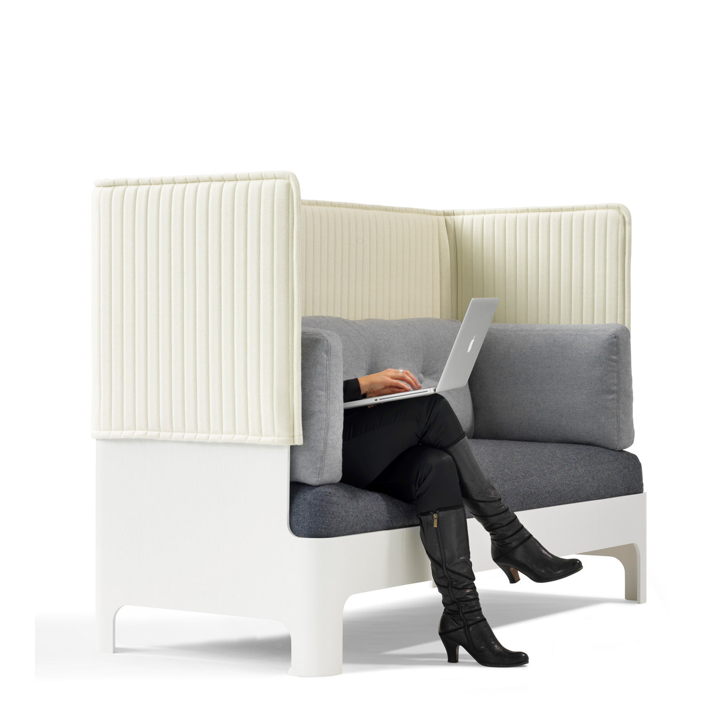 Koja High Back Sofa S52H | Acoustic Seating| Apres Furniture Pertaining To Sofas With High Backs (View 5 of 15)