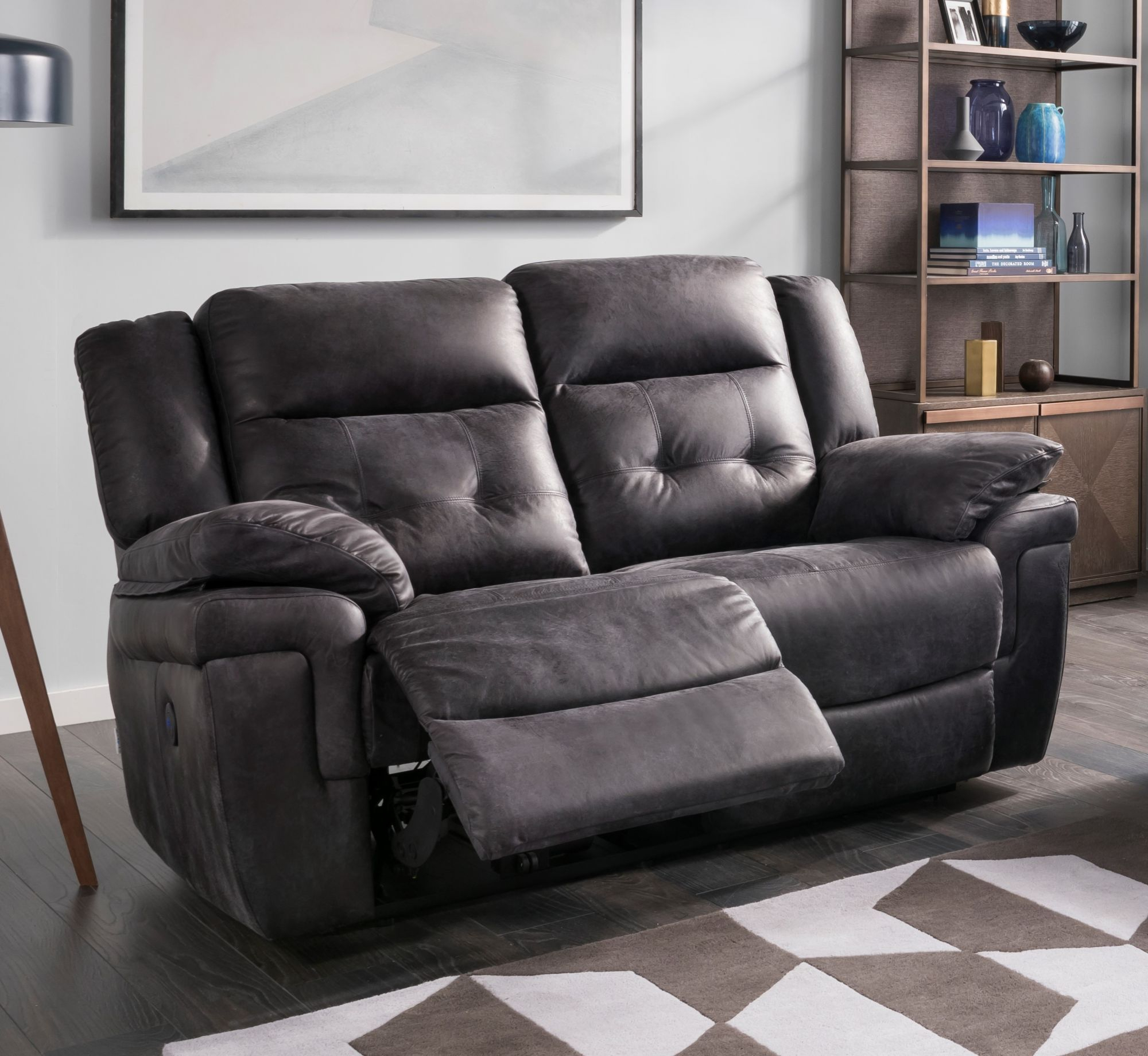 La Z Boy Augustine 2 Seater Reclining Sofa – Small Sofas For 2 Seater Sofas (View 4 of 15)