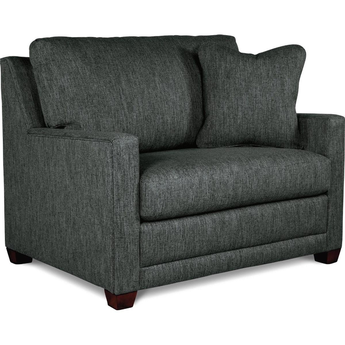 La Z Boy Twilight Contemporary Twin Sofa Sleeper | Conlin Within Twin Sofa Chairs (View 7 of 15)
