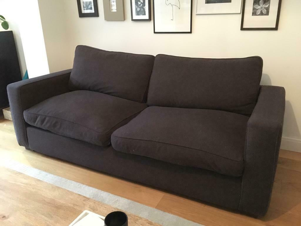 Large Cashmere 4 Seater Sofa | In Hove, East Sussex | Gumtree In 4 Seater Sofas (View 4 of 15)