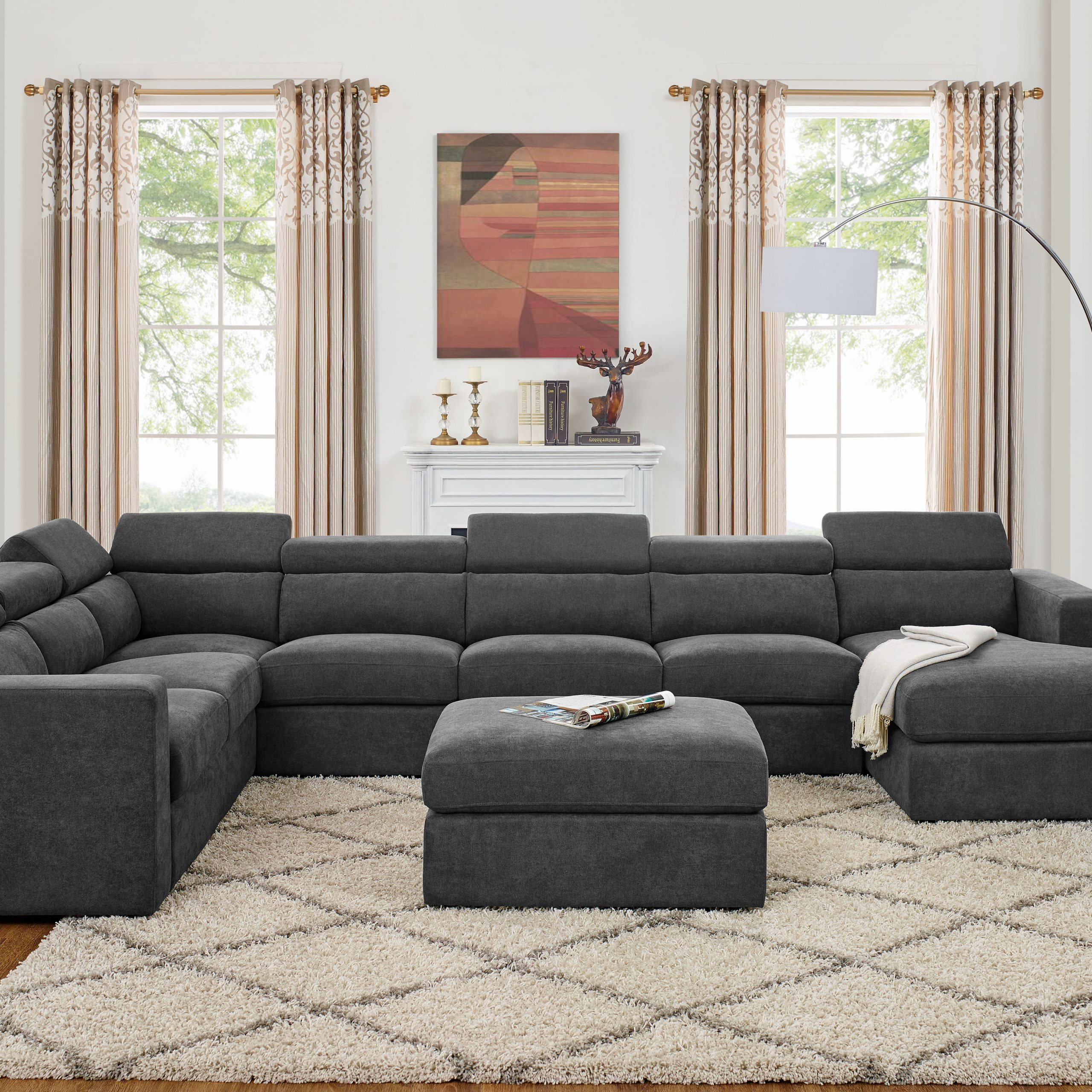 Large Comfortable Sectional Sofas 50 Extra Large Sectional Inside Extra Large Sectional Sofas (View 2 of 15)