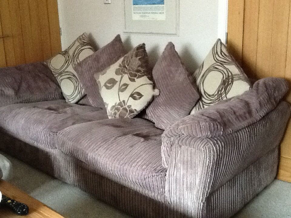 Large Comfortable Sofa | In Tamworth, Staffordshire | Gumtree Within Comfortable Sofas And Chairs (View 3 of 15)