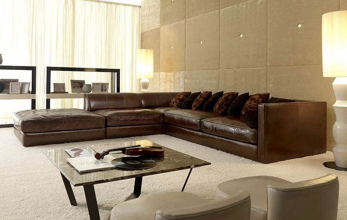 Large Leather Sectional Sofas | Large Sectional Sofa Pertaining To Extra Large Sectional Sofas (View 15 of 15)