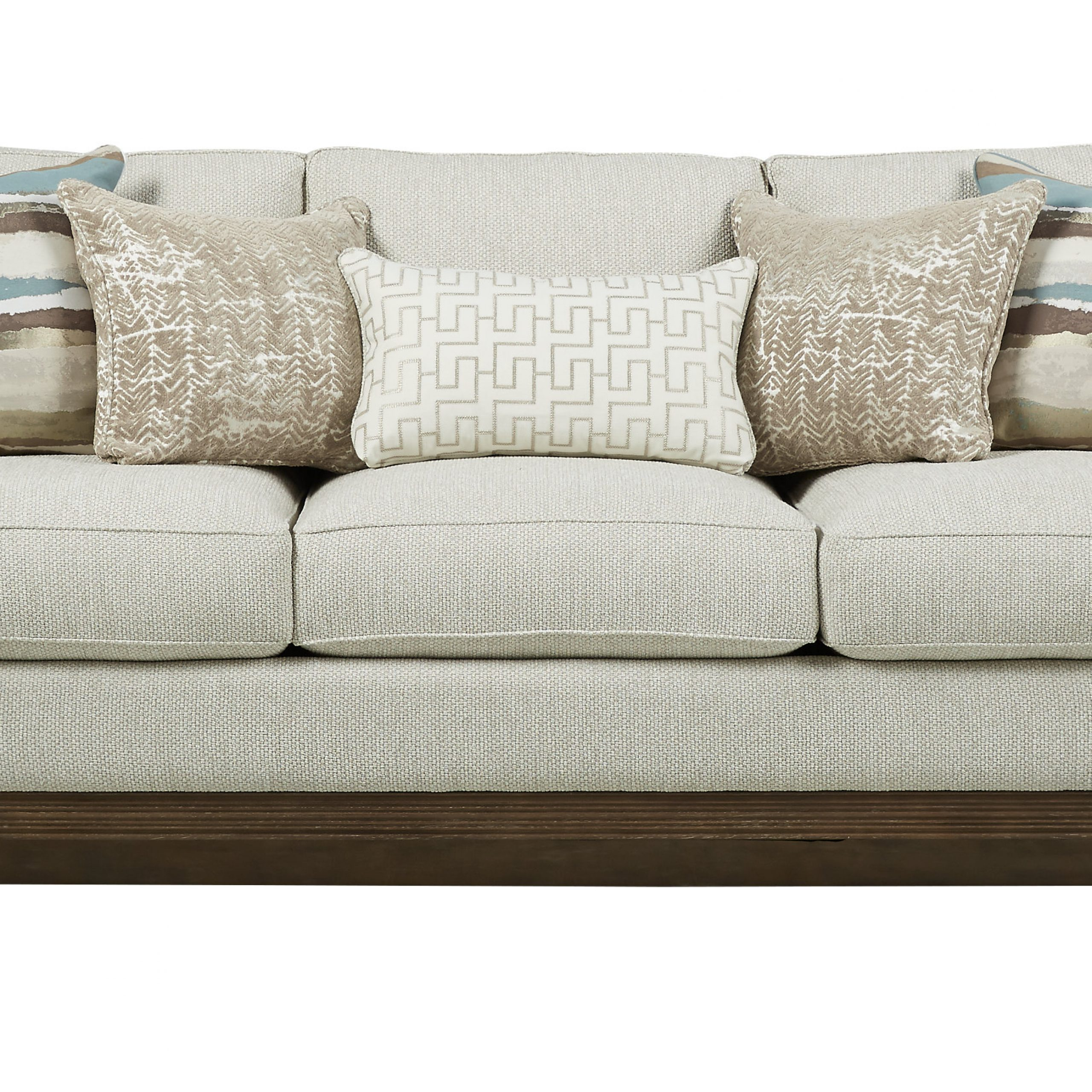Leather Beige Sofa Cindy Crawford Home Fancy Beige Leather Pertaining To Cindy Crawford Sofas (View 15 of 15)