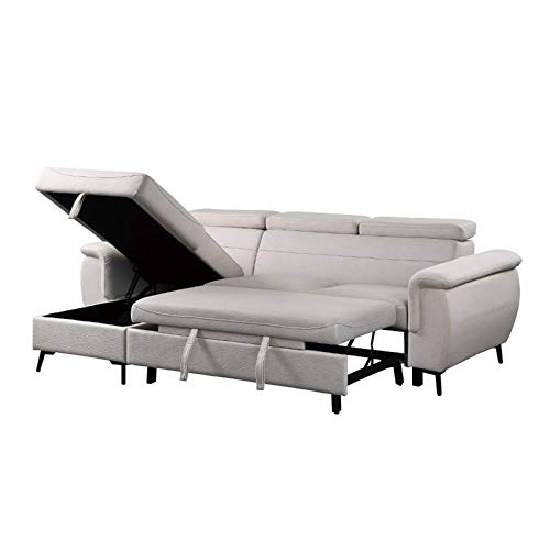 Lexicon Cadence Microfiber Reversible Sectional Sofa In Pertaining To Harmon Roll Arm Sectional Sofas (View 15 of 15)
