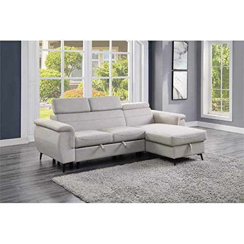 Lexicon Cadence Microfiber Reversible Sectional Sofa In Pertaining To Harmon Roll Arm Sectional Sofas (View 11 of 15)