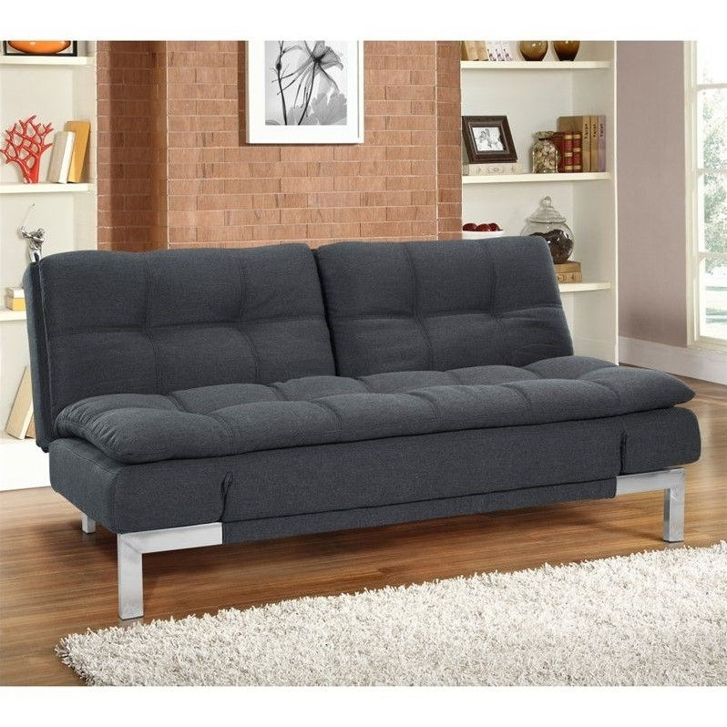 Lifestyle Solutions Serta Boca Convertible Sofa In Throughout Convertible Sectional Sofas (View 1 of 15)