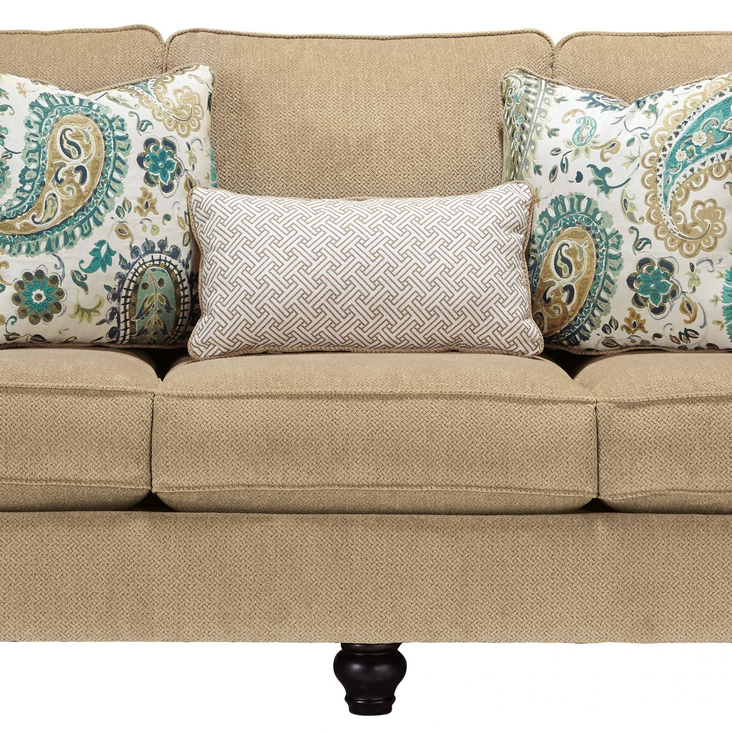 Lochian Sofa With Reversible Coil Seat Cushions & English Regarding Debbie Coil Sectional Futon Sofas (Photo 14 of 15)