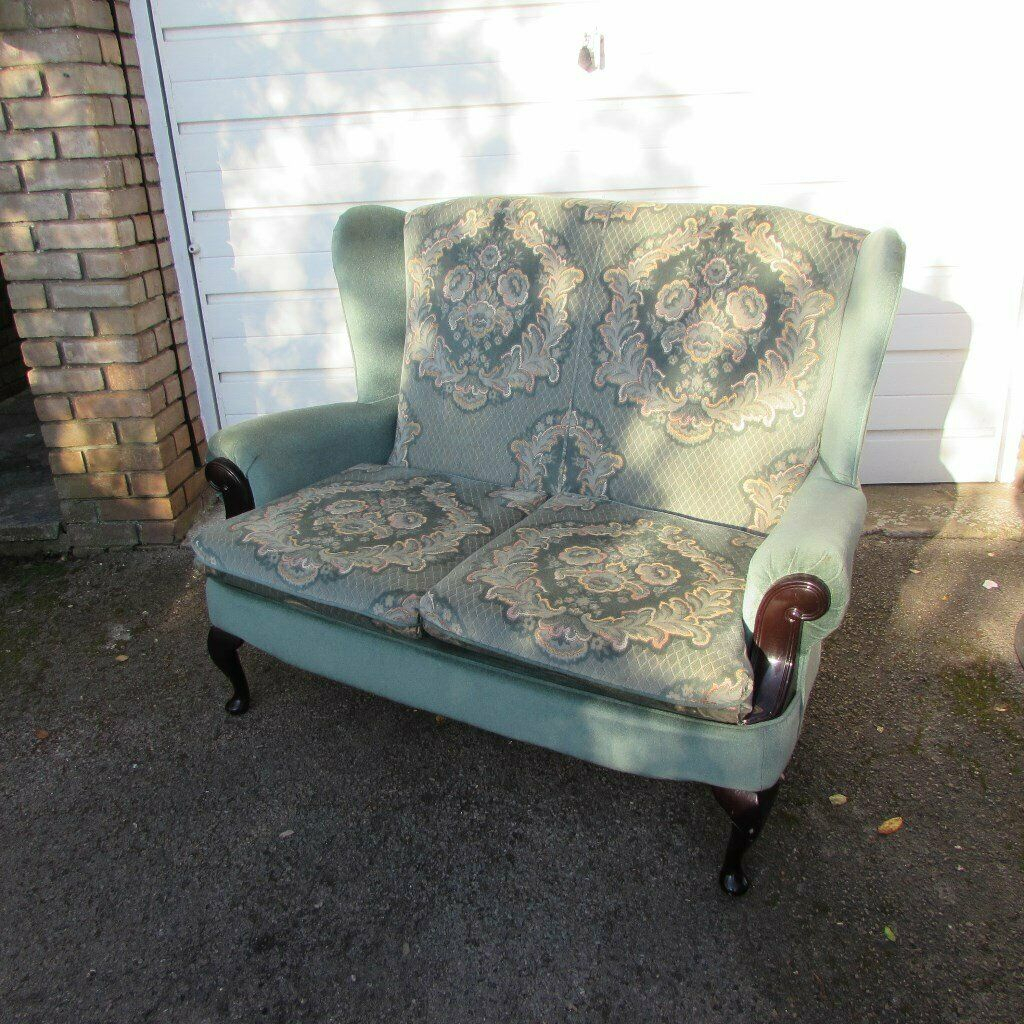 Lovely 2 Seater Cottage Style Sofa In Excellent Condition Regarding Cottage Style Sofas And Chairs (View 3 of 15)