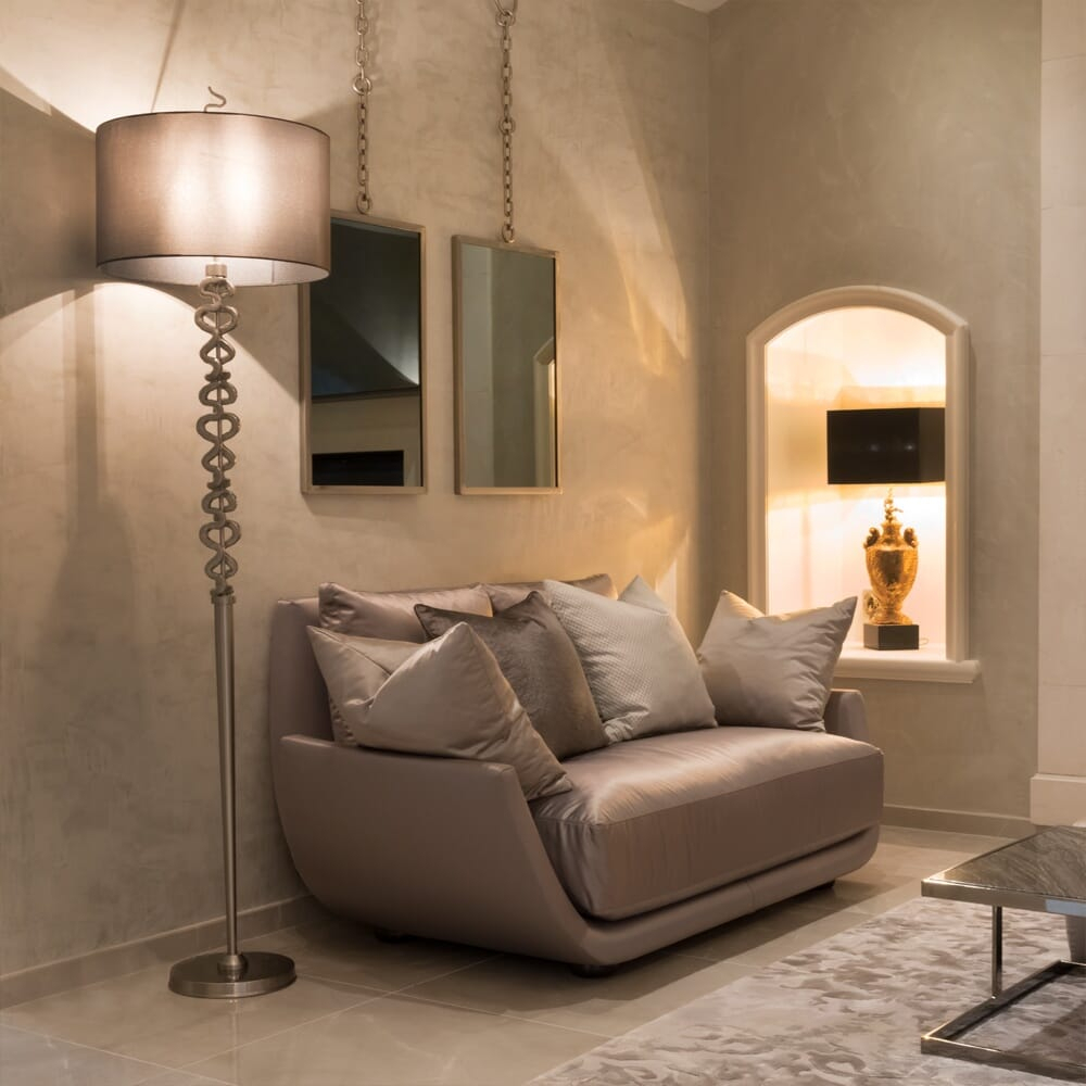 Luxury Modern Two Seater Sofa Within Two Seater Sofas (View 13 of 15)