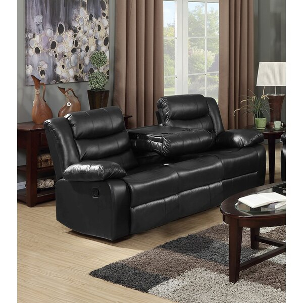 Magnolia Home 38'' Pillow Top Arm Reclining Sofa & Reviews With Magnolia Sectional Sofas With Pillows (View 2 of 15)
