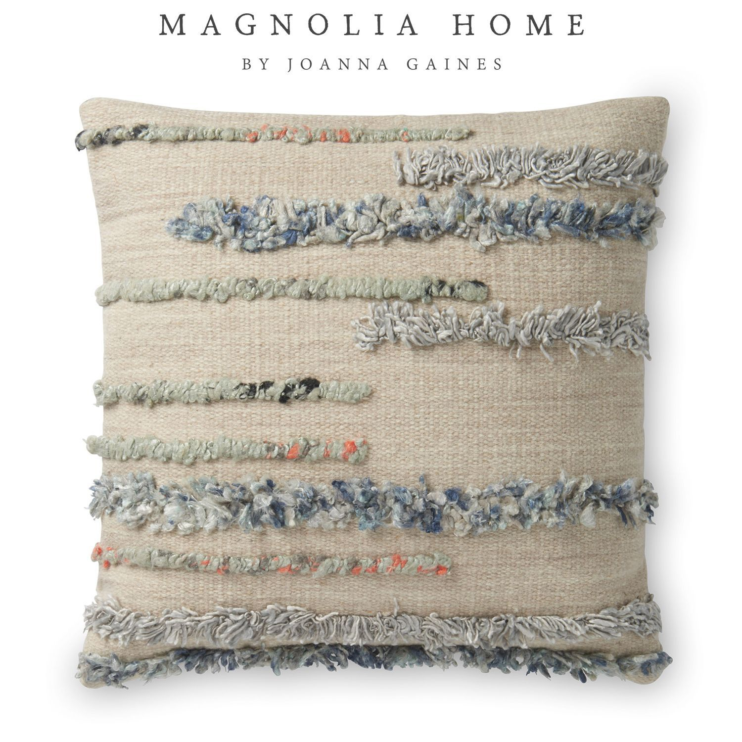 Magnolia Home Harper Pillow | Pier 1 Imports | Magnolia With Magnolia Sectional Sofas With Pillows (View 7 of 15)