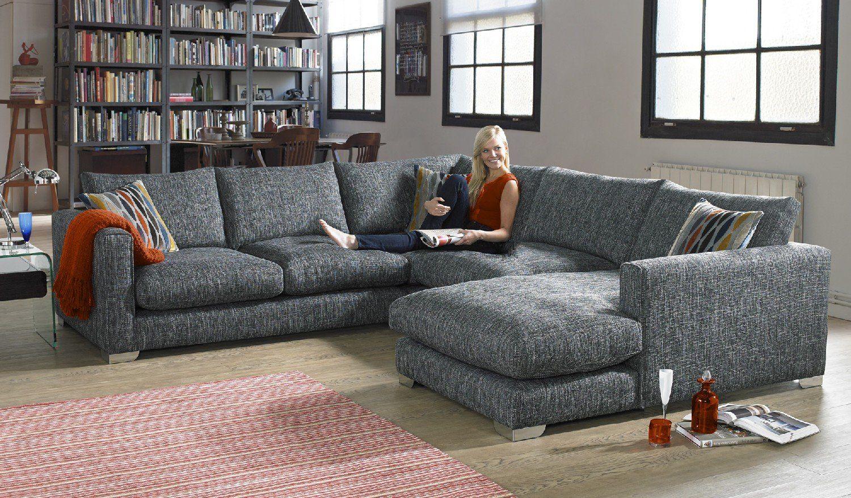 Majestic Fabricsofa | Sofa, Fabric Sofa, Charcoal Sofa Pertaining To Katie Charcoal Sofas (View 15 of 15)