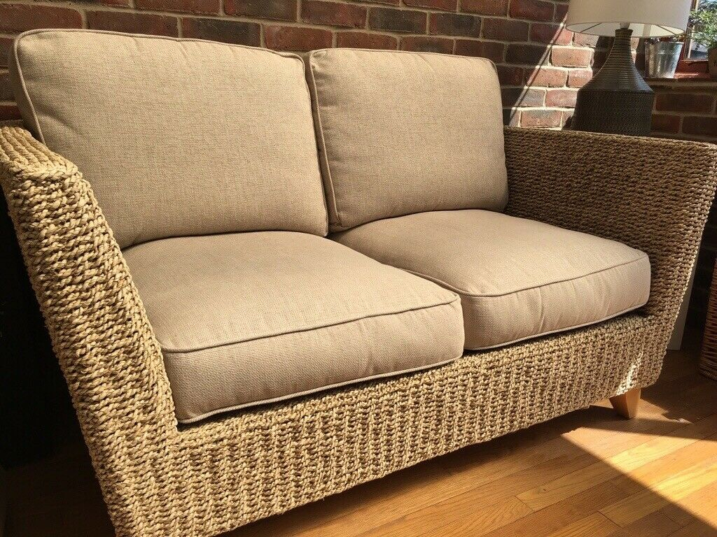 Marks And Spencer Wicker Sofa | In Ashford, Kent | Gumtree Within Marks And Spencer Sofas And Chairs (View 2 of 15)
