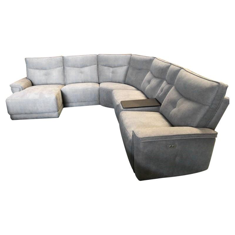 Marshall 5 Seater Fabric Modular Corner Sofa With Chaise Inside Modular Corner Sofas (View 12 of 15)